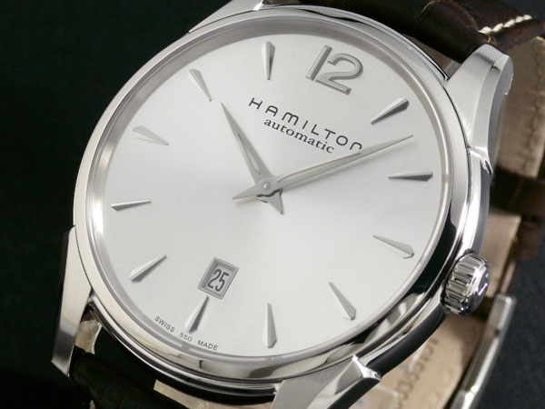 【スーパーSALE】(~9/11 01:59)(~9/30)ハミルトン HAMILTON ジャズマスター スリム 自動巻き 腕時計 H38615555 メンズ 【代引き不可】
