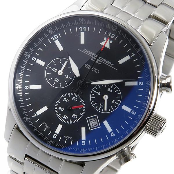 (~4/30)【キャッシュレス5%】ヨーグ グレイ JORG GRAY バラク・オバマ 大統領 記念エディション シークレットサービス クロノグラフ 腕時計 JG6500-71 メンズ 【代引き不可】