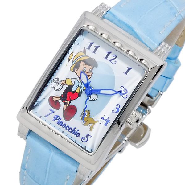 (~4/30)【キャッシュレス5%】ディズニーウオッチ Disney Watch ピノキオ 腕時計 MK1208D レディース