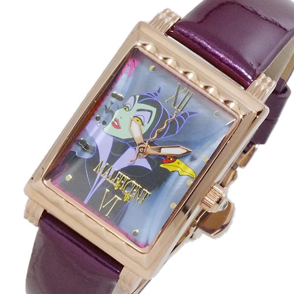 【お買い物マラソンxポイントアップ】(~4/26 01:59) 【ポイント10倍】(~4/30 23:59) ディズニーウオッチ Disney Watch マレフィセント 腕時計 MK1208J レディース
