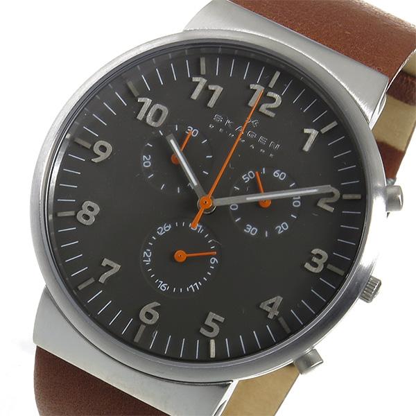 (~8 腕時計 グレー/31) スカーゲン SKAGEN アンカー クロノグラフ アンカー クオーツ 腕時計 SKW6099 グレー メンズ, A.P.J.オンライン:517e8ec4 --- officewill.xsrv.jp