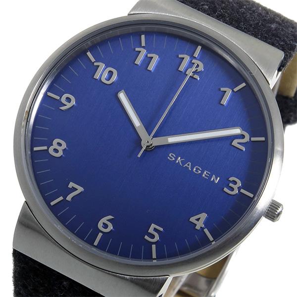 (~8/31) スカーゲン ネイビー スカーゲン ANCHER SKAGEN アンカー ANCHER クオーツ 腕時計 SKW6232 ネイビー メンズ, マツエシ:afd494a6 --- officewill.xsrv.jp