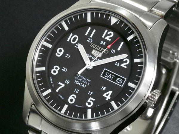 (~8 腕時計/31) 5 セイコー SEIKO セイコー5 スポーツ 5 セイコー SPORTS 自動巻き 腕時計 SNZG13J1 メンズ, 天童市:ee965080 --- officewill.xsrv.jp