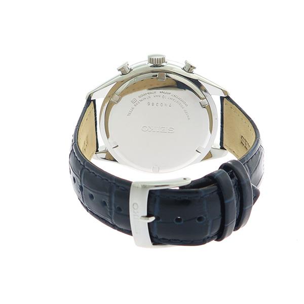 【期間限定】【エントリーでポイント3倍×ポイントアップ2倍】(7/21 10:00~7/24 09:59) セイコー SEIKO クロノグラフ クオーツ 腕時計 SSB291P1 シルバー/ブルーブラック メンズ