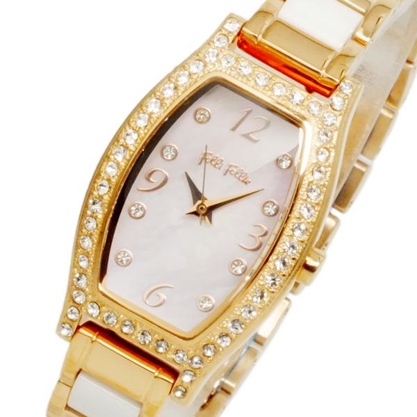 (~4/30)【キャッシュレス5%】フォリフォリ FOLLI FOLLIE ウィンター ウィッシーズ 腕時計 WF14B022BSW レディース