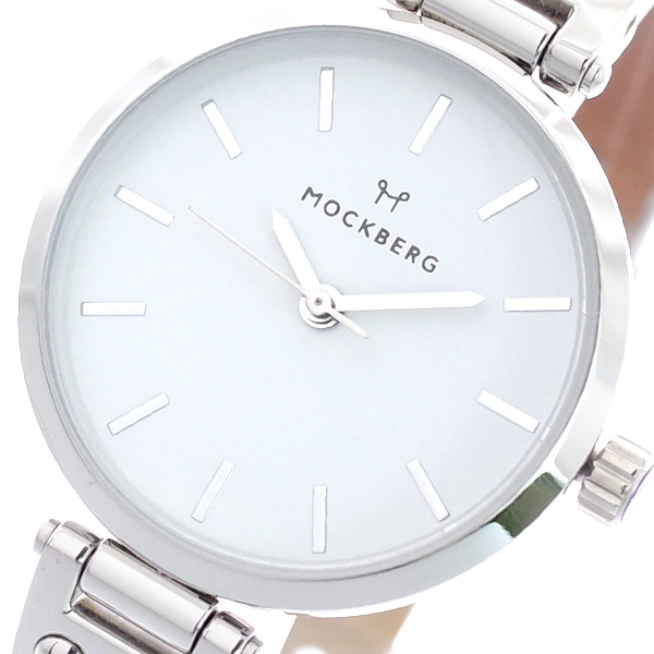 (~8/31) MOCKBERG モックバーグ MOCKBERG 腕時計 MO206 レディース MO206 クォーツ ホワイト クォーツ ライトブラウン, インテリア&ファブリックN5C:d52da49c --- officewill.xsrv.jp