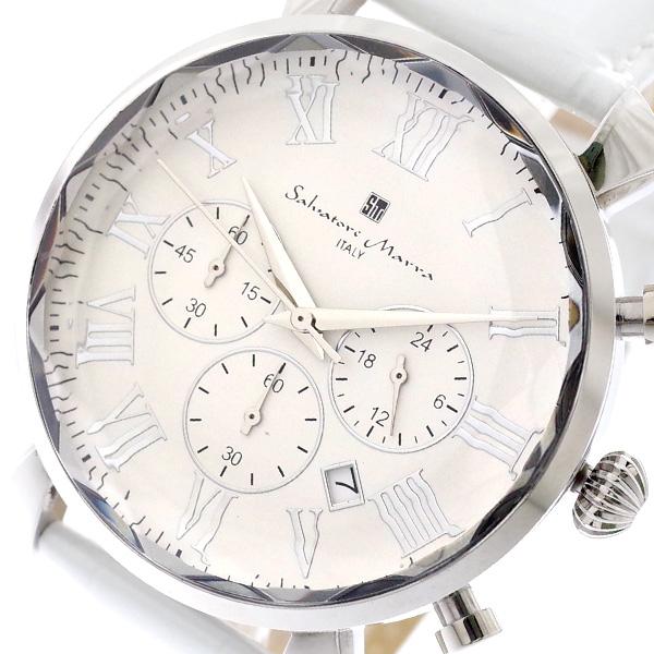 (~8/31) サルバトーレマーラ SALVATORE MARRA SALVATORE ホワイト MARRA 腕時計 メンズ SM19104-SSWH クォーツ ホワイト パールホワイト, ワッカナイシ:f5e14f20 --- officewill.xsrv.jp