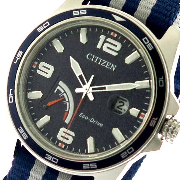 【スーパーSALE】(~9/11 01:59)(~9/30)シチズン CITIZEN 腕時計 メンズ AW7038-04L クォーツ ネイビー ネイビー グレー