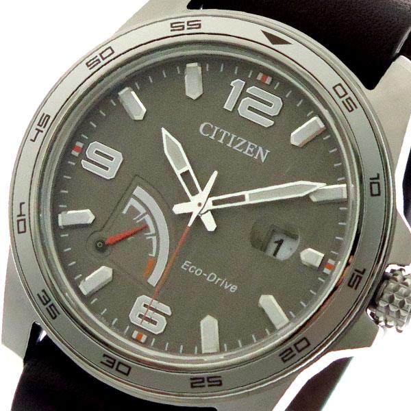 【スーパーSALE】(~9/11 01:59)(~9/30)シチズン CITIZEN 腕時計 メンズ AW7039-01H クォーツ グレー ブラウン