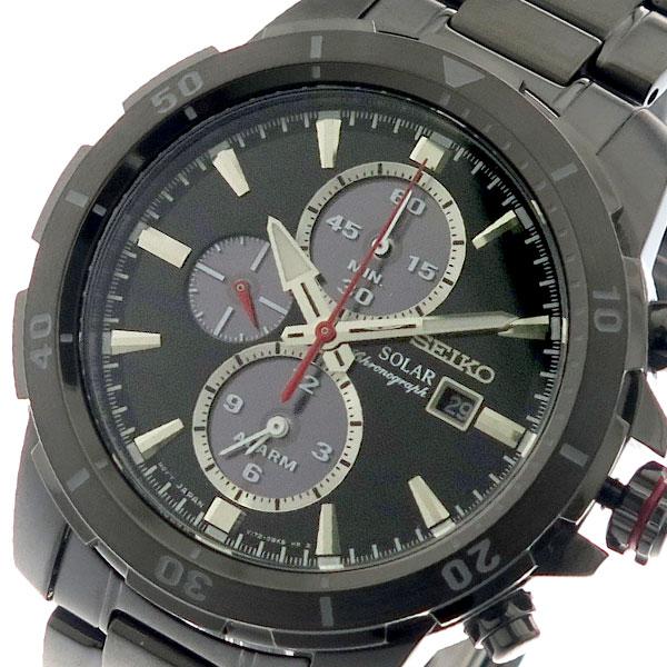 (~8/31) セイコー SEIKO クォーツ 腕時計 腕時計 メンズ SSC559P1 ソーラー セイコー SOLAR クォーツ ブラック ガンメタ, 浪江町:54d5c02f --- officewill.xsrv.jp