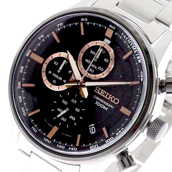【スーパーSALE】(~9/11 01:59)(~9/30)セイコー SEIKO 腕時計 メンズ SSB331P1 クォーツ グレー シルバー