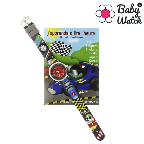 【超ポイントバック祭 ポイント最大42倍】(~7/31) ベビーウォッチ babywatch コフレボヌール レース クオーツ 腕時計 CB011 レッドユニセックス