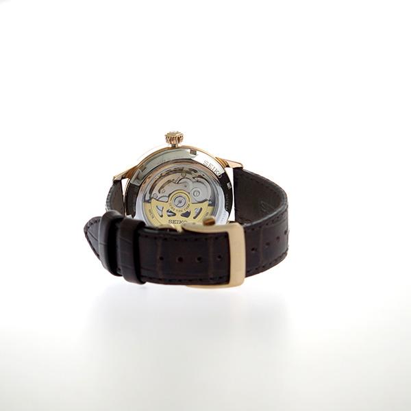 【期間限定】【エントリーでポイント3倍×ポイントアップ2倍】(7/21 10:00~7/24 09:59) セイコー SEIKO 自動巻き 腕時計 SSA346J1 シルバー メンズ 【代引き不可】