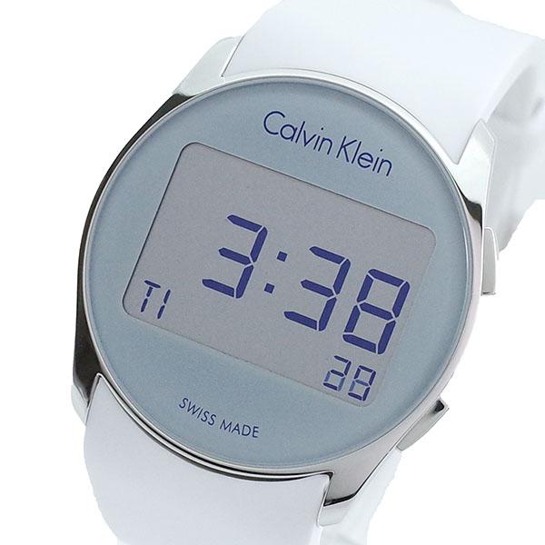 (~8/31) カルバンクライン CALVIN KLEIN 腕時計 K5B23UM6 クォーツ 腕時計 クォーツ グレー CALVIN ホワイト ユニセックス, 椎葉村:71fc874d --- officewill.xsrv.jp