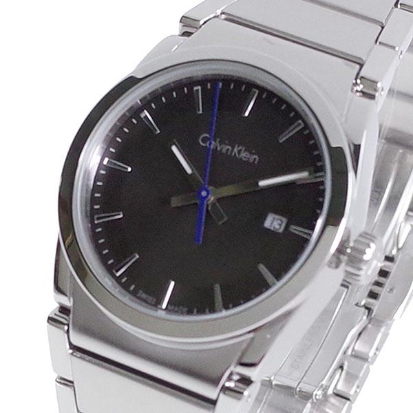 (~8/31) カルバンクライン ブラック CALVIN レディース KLEIN 腕時計 K6K33143 腕時計 クォーツ ブラック シルバー レディース, PedraMercado:a67cc94b --- officewill.xsrv.jp
