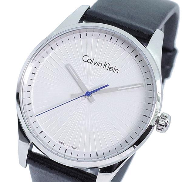 (~8 KLEIN/31) カルバンクライン CALVIN KLEIN (~8/31) 腕時計 CALVIN K8S211C6 クォーツ ホワイト ブラック レディース, 家具のファンタス:dad5bbf5 --- officewill.xsrv.jp