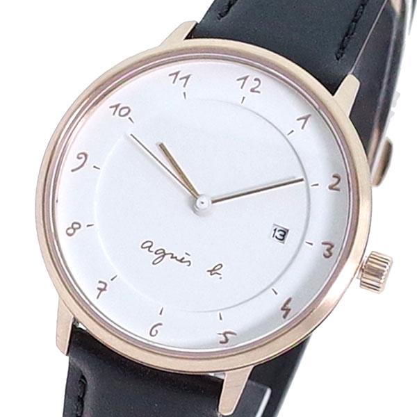 (~8 ホワイト/31) アニエスベー (~8/31) 腕時計 AGNS B 腕時計 B4A001J1 クォーツ ホワイト ブラック レディース, ようけんShop:12b73f75 --- officewill.xsrv.jp