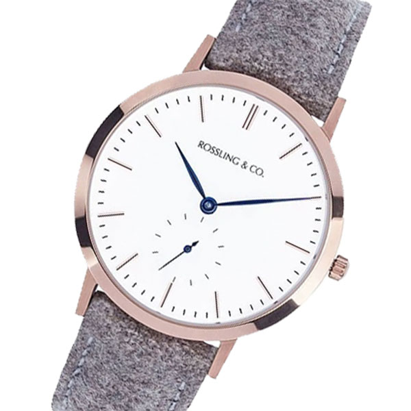 【スーパーSALE】(~9/11 01:59)(~9/30)ROSSLING ロスリング MODERN 36MM ABERDEEN 腕時計 RO-003-005 ベージュ/ホワイト ユニセックス