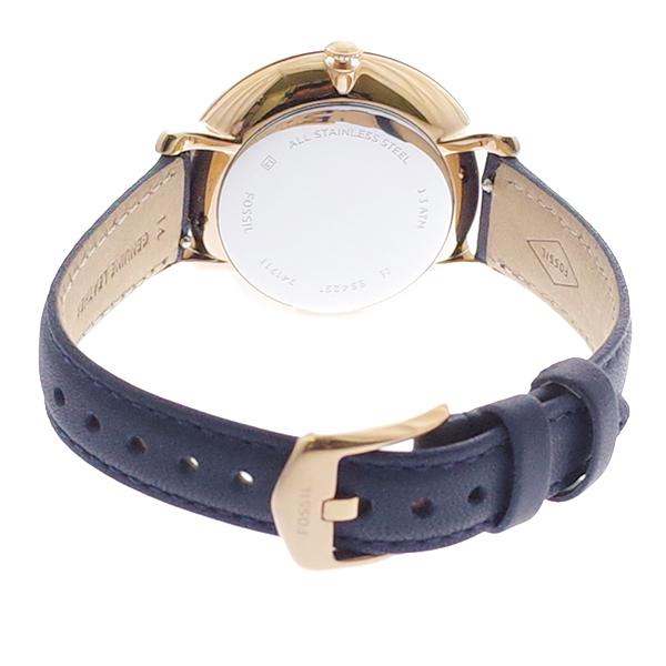 【お買い物マラソン】(~4/16 01:59) 【ポイント2倍】(~4/30 23:59) フォッシル FOSSIL 腕時計 ES4291 クォーツ ホワイト ネイビー レディース