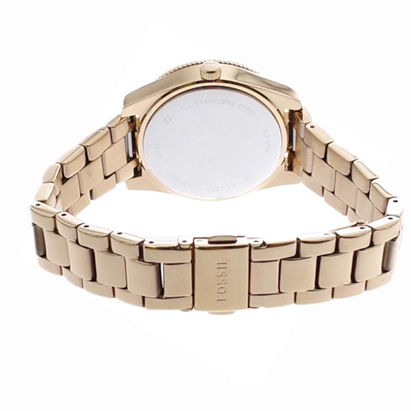 【お買い物マラソン】(~4/16 01:59) 【ポイント2倍】(~4/30 23:59) フォッシル FOSSIL 腕時計 ES4318 クォーツ ピンクゴールド レディース