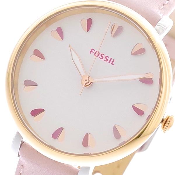 (~8/31) クォーツ フォッシル FOSSIL FOSSIL 腕時計 ES4351SET ES4351SET クォーツ ホワイト ピンク レディース, テッタチョウ:487c9cb1 --- officewill.xsrv.jp