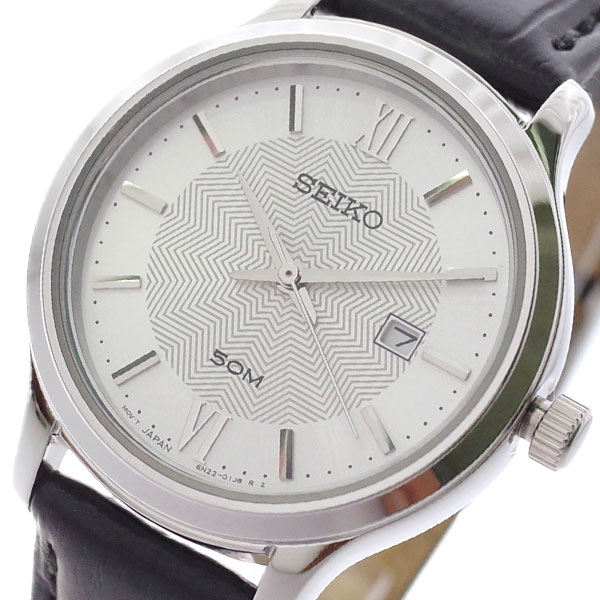 (~8/31) ブラック セイコー SEIKO 腕時計 SUR645P1 クォーツ クォーツ シルバー ブラック レディース レディース, KANEGI:4b7cda84 --- officewill.xsrv.jp