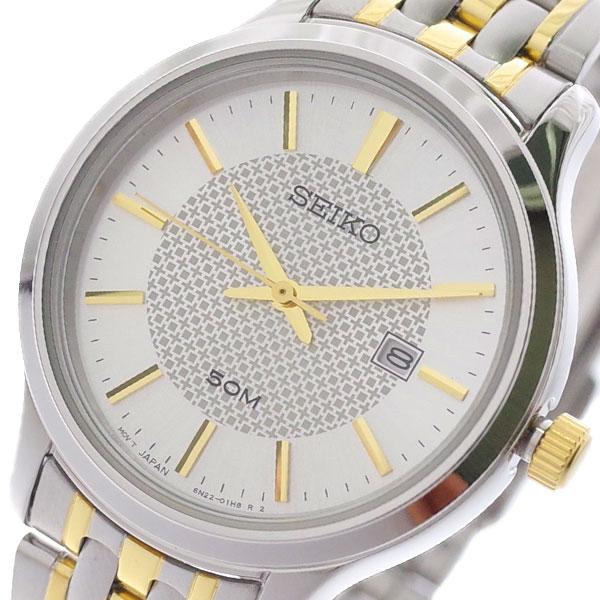 【スーパーSALE】(~9/11 01:59)(~9/30)セイコー SEIKO 腕時計 SUR647P1 クォーツ シルバー レディース