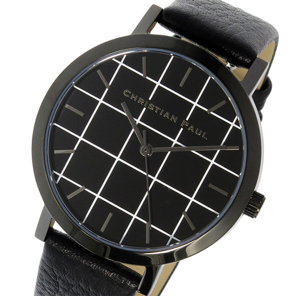 (~8/31) クリスチャンポール レディース CHRISTIAN CHRISTIAN PAUL グリッド GRID THE ブラック STRAND 腕時計 GRL-01 ブラック レディース, the nextage:a151b0e8 --- officewill.xsrv.jp