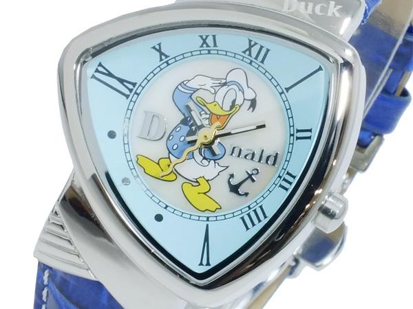(~4/30)【キャッシュレス5%】ディズニーウオッチ Disney Watch ドナルドダック 腕時計 MK1190-C レディース