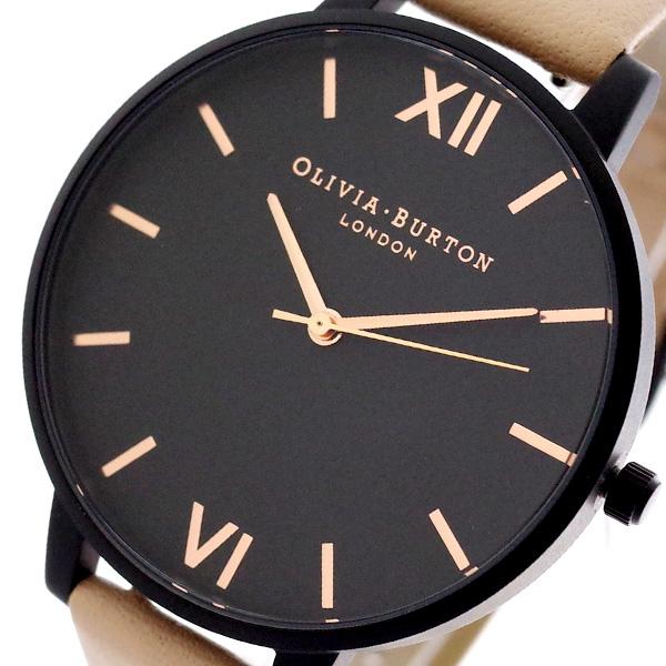 【スーパーSALE】(~9/11 01:59)(~9/30)オリビアバートン OLIVIA BURTON 腕時計 OB16AD25 クォーツ ブラック ピンク レディース