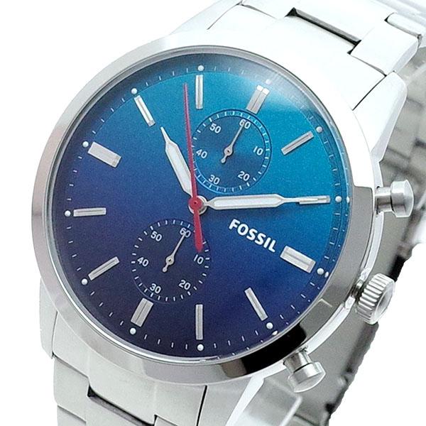 (~8/31) フォッシル FOSSIL 腕時計 腕時計 FS5434 クォーツ ブルー メンズ シルバー FOSSIL メンズ, サカイチョウ:3e11de0f --- officewill.xsrv.jp