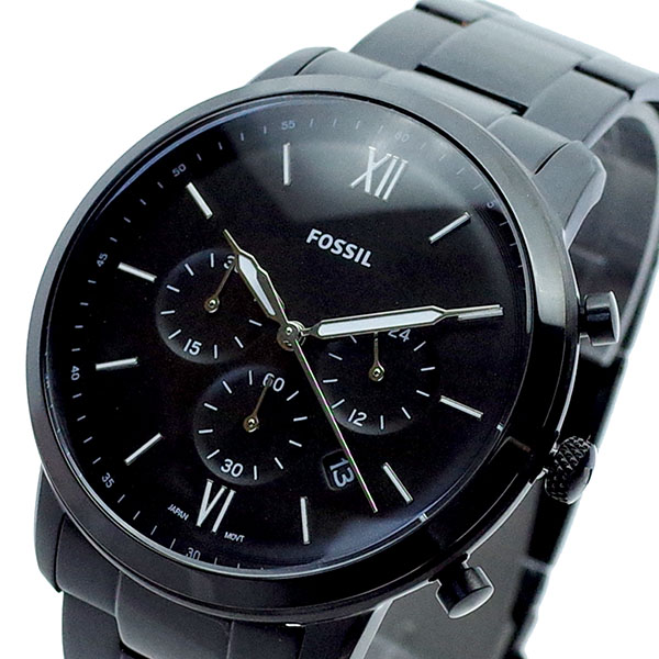 (~8 FS5474 ブラック/31) フォッシル FOSSIL 腕時計 FS5474 腕時計 クォーツ ブラック メンズ, ハマキタシ:72c4213b --- officewill.xsrv.jp