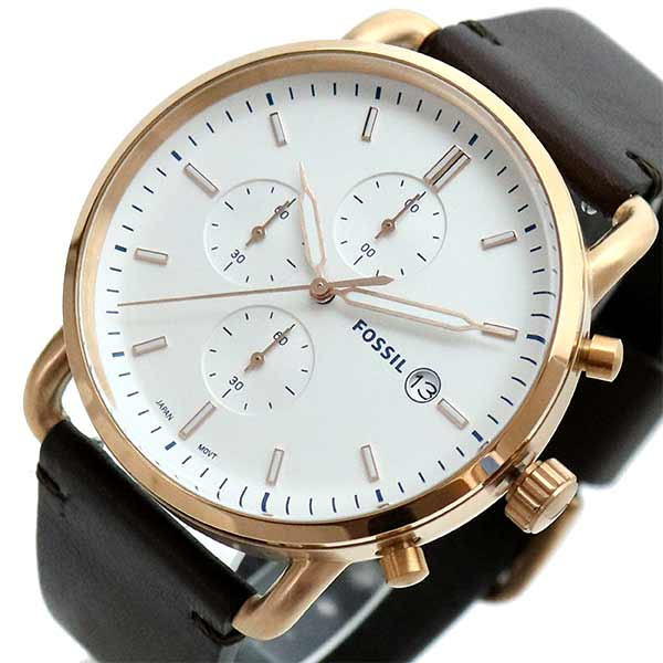 (~8 (~8/31)/31) フォッシル ブラウン FOSSIL 腕時計 FS5476 FS5476 クォーツ ホワイト ブラウン メンズ, ソーコショップ:cfa25b73 --- officewill.xsrv.jp