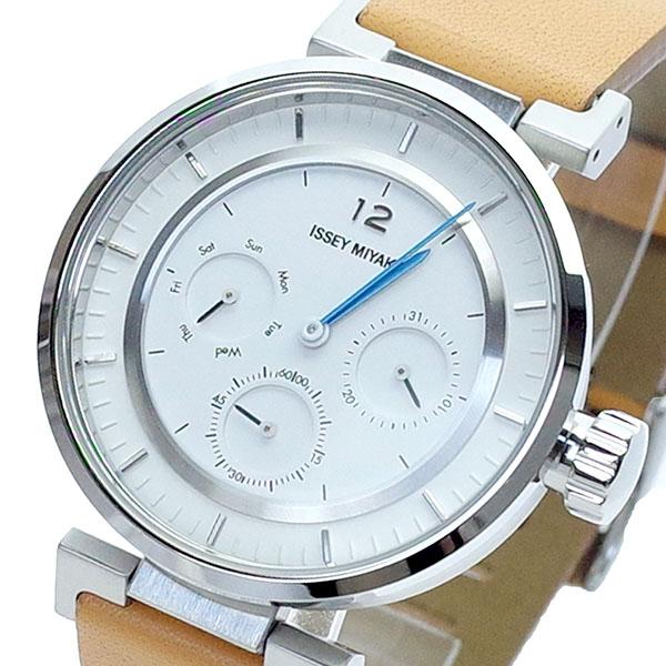 (~8/31) ブラウン イッセイ ミヤケ ISSEY MIYAKE 腕時計 SILAAB03 クォーツ イッセイ ISSEY ホワイト ブラウン メンズ, アイエスマート:e74a6d33 --- officewill.xsrv.jp
