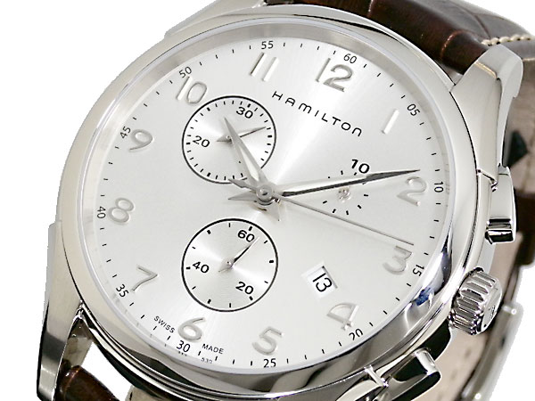 (~8/31) ハミルトン 腕時計 HAMILTON ジャズマスター JAZZMASTER クロノグラフ ハミルトン JAZZMASTER 腕時計 H38612553 メンズ【代引き不可】, イーアンドワイ:c11dd609 --- officewill.xsrv.jp