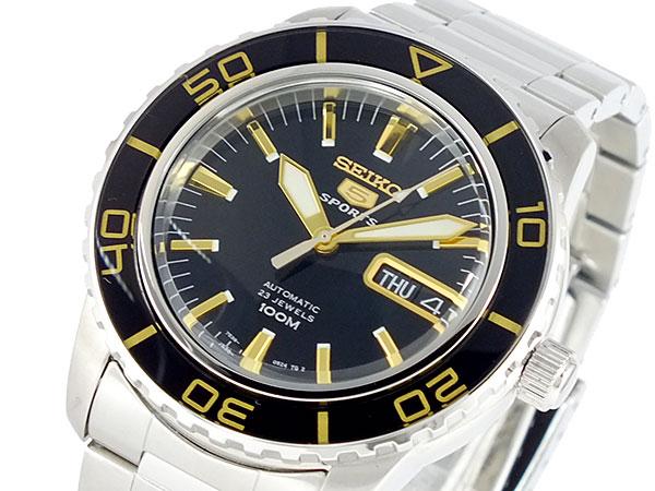 (~4/30)【キャッシュレス5%】セイコー 5 SEIKO オートマチック ダイバーズ ウォッチ 自動巻き 腕時計 SNZH57K1 メンズ