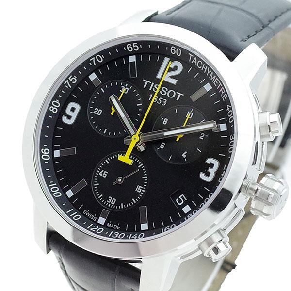 (~4/30)【キャッシュレス5%】ティソ TISSOT 腕時計 T055.417.16.057.00 クォーツ ブラック メンズ