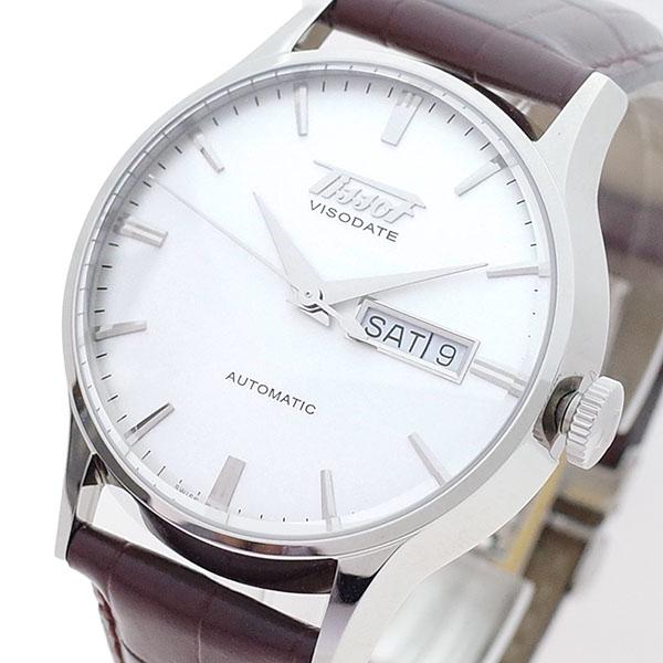 (~8/31) ティソ TISSOT 腕時計 腕時計 T019.430.16.031.01 自動巻き ホワイト ヘリテージ ヴィソデイト 自動巻き ホワイト ブラウン メンズ, Hamee TV:1407a416 --- officewill.xsrv.jp