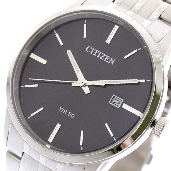 (~8/31) CITIZEN シチズン CITIZEN 腕時計 BI5000-52E BI5000-52E クォーツ ブラック ブラック シルバー メンズ, クギノムラ:19f93cb4 --- officewill.xsrv.jp