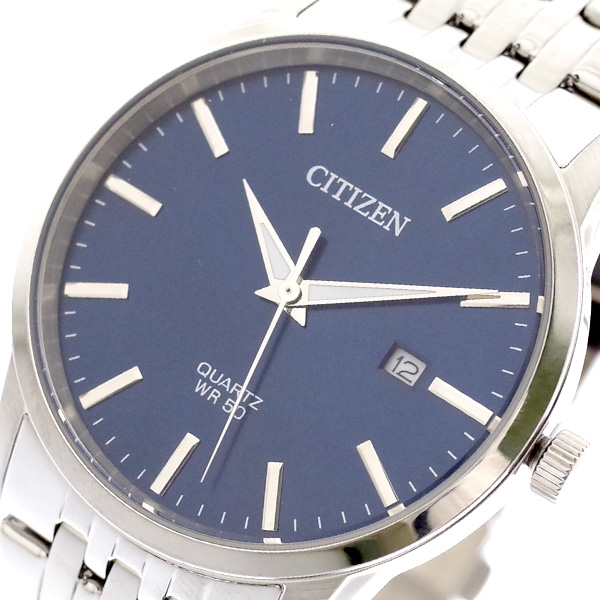 (~8/31) シチズン ネイビー CITIZEN 腕時計 シチズン BI5000-87L クォーツ ネイビー CITIZEN シルバー メンズ, 人気デザイナー:92b1589a --- officewill.xsrv.jp
