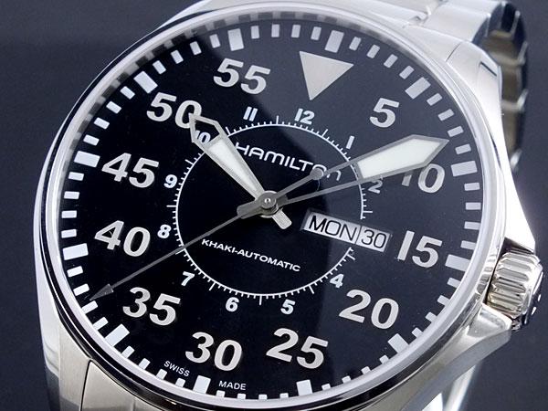 (~8/31) ハミルトン HAMILTON カーキ カーキ パイロット メンズ パイロット 自動巻き 腕時計 H64715135 メンズ【代引き不可】, ネイバーズスポーツ:ceb59d85 --- officewill.xsrv.jp