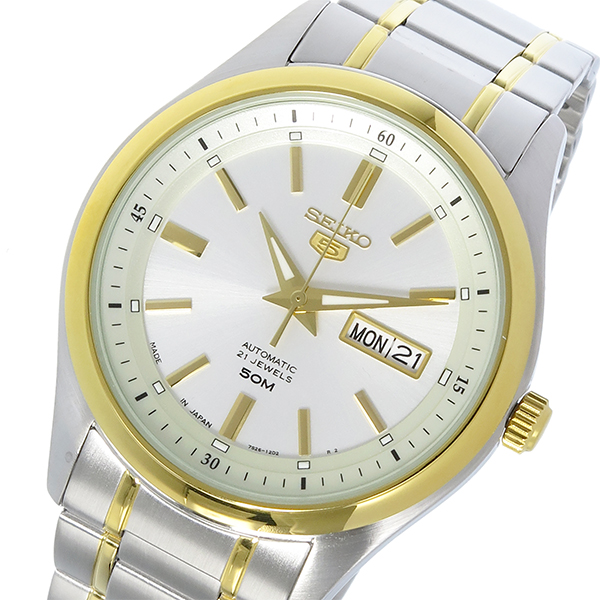 (~8 メンズ/31) セイコー5 セイコー SEIKO セイコー5 自動巻き セイコー 腕時計 SNKN92J ホワイトシルバー メンズ, 保安用品専門店 Safety_First:3afaf7b1 --- officewill.xsrv.jp