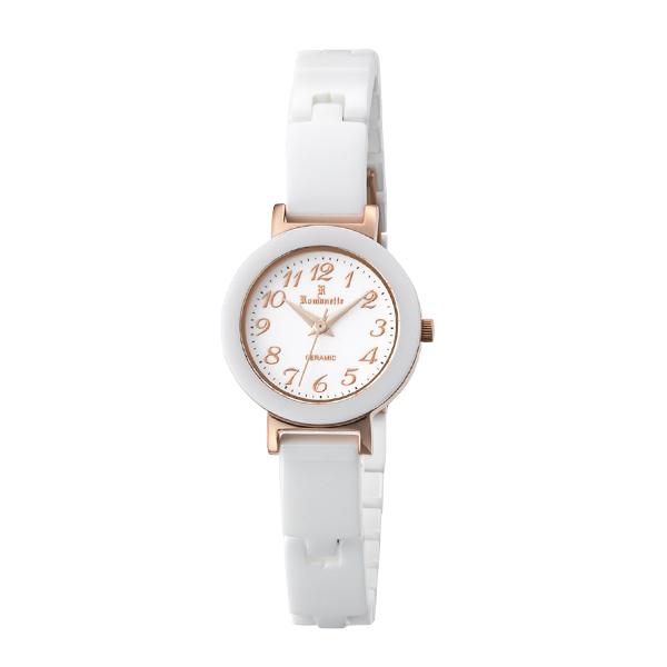 (~4/30)【キャッシュレス5%】ロマネッティ ROMANETTE 腕時計 RE-3531L-03 クォーツ ホワイト 国内正規 レディース