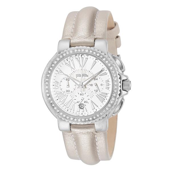 (~4/30)【キャッシュレス5%】フォリフォリ FOLLI FOLLIE 腕時計 WF6A003SEW-IVY クォーツ ホワイト オフホワイト レディース
