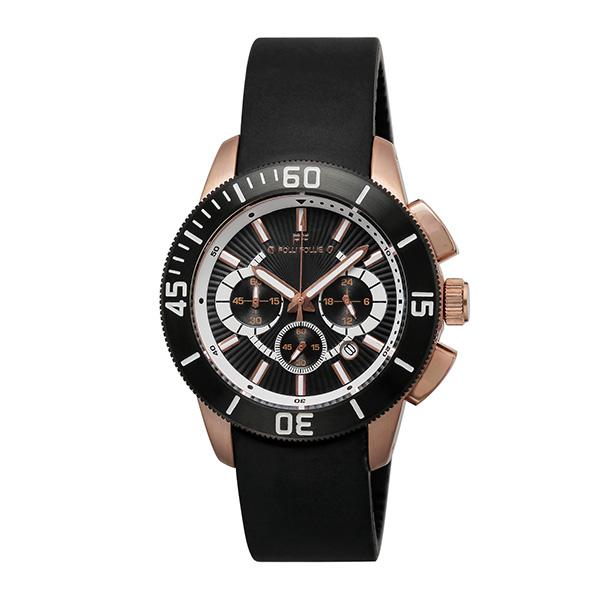 【スーパーSALE】(~9/11 01:59)(~9/30)フォリフォリ FOLLI FOLLIE 腕時計 WF8R036ZEK-BK クォーツ ブラック レディース