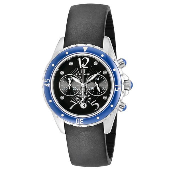 【スーパーSALE】(~9/11 01:59)(~9/30)フォリフォリ FOLLI FOLLIE 腕時計 WF8T032ZVU-BK クォーツ ブラック レディース