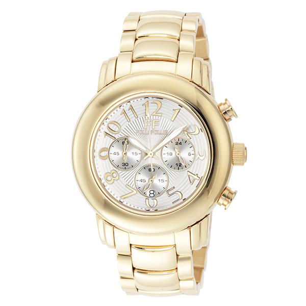 (~4/30)【キャッシュレス5%】フォリフォリ FOLLI FOLLIE 腕時計 WF9G001BEW-XX クォーツ ホワイト ゴールド レディース