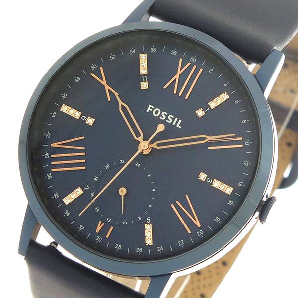 【期間限定】(~9/1 23:59) フォッシル FOSSIL クオーツ 腕時計 ES4109 ネイビー/ネイビー レディース