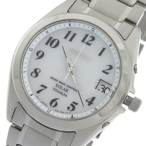 (~8/31) SOLAR セイコー SEIKO ソーラー (~8/31) ユニセックス SOLAR クオーツ 腕時計 SBTM223 ホワイト/シルバー ユニセックス, ミヨシムラ:f3db9af3 --- officewill.xsrv.jp