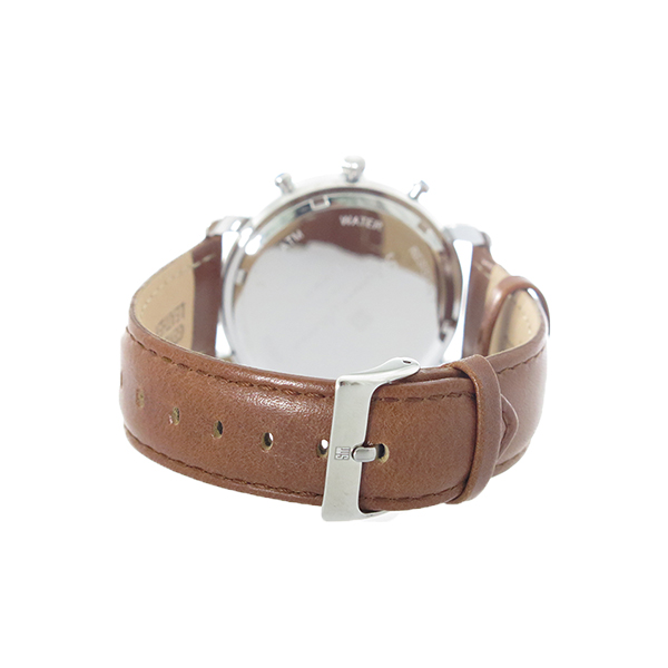 サルバトーレマーラ SALVATORE MARRA クロノグラフ クオーツ 腕時計 SM18109-SSCM ピンクゴールド/ブラウン メンズ